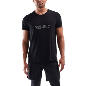 2XU Contender T-shirt Heren, black/white